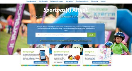nieuwe site sportpas